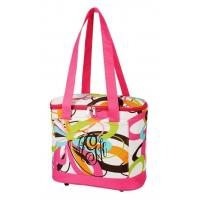 Quality SALE Multi Colored Swirls Cooler Tote Bag FREE MONOGRAM-tote picnic lunch bag for sale