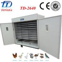 China Hot sale TD-2640 full automatic chicken egg hatching machine wholesale