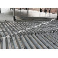 China 0.8mm-1.2mm Composite Metal Floor Decking For Multi Storey Building ISO9001 wholesale