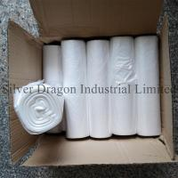 China Natural color high density polyethylene can liners on rolls, 6 to 30 microns are available wholesale