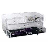 China Competitive Prices Acrylic Three Drawer Organizer With Quick Delivery wholesale