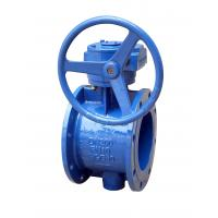 China Anti Rust Flange Butterfly Valve Eccentric Flanged Butterfly Valve No Leakage on sale