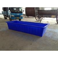 China Rational virgin plastic rectangular horse water trough wholesale