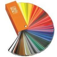 China German Ral k5 color cards for fabric wholesale