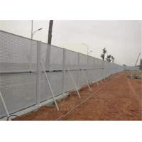 China Galvanized Perforated Metal Mesh Panel Fencing For Windshield in Construction wholesale