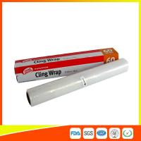 China Household Eco Friendly Plastic Cling Wrap For Food / Vegetables Packaging wholesale