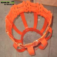 China Drilling Tool Water Well Accessories Steel Hinged Single Bow Spring Centralizer wholesale