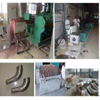 China Automatic Stainless Steel Elbow Forming Machine For Carbon Steel Elbow Standard 3A Energy Saving wholesale