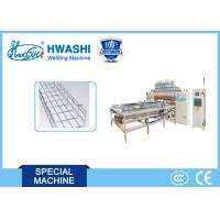 China Cable Tray Welded Wire Mesh Welding , Basket cable making machine wholesale