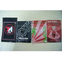 China Germany Herbal Incense Packaging Ziplock Bags / New Zealand Potpourri Bag With Top Filling wholesale