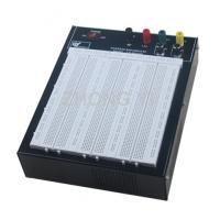 China Black Flameresistant Case Powered Breadboard with 2420 Point  White Board wholesale
