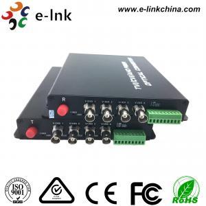 China FC Connector AHD CVI TVI Over Fiber Converter Wall Mounted / Rack Mounted wholesale