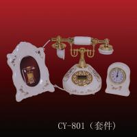 China ployresin resin corded and cordless antique telephone christmas gift OEM(CY-801) wholesale