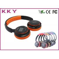 China Affordable Soft Leather On Ear Headband Bluetooth Headphones Built In Microphone wholesale