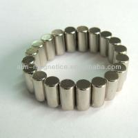 Buy cheap Excellent Sintered Neodymium/NdFeB Cylinder Magnet For Sale from wholesalers