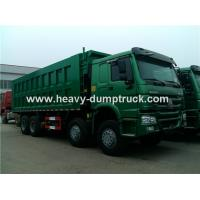 Quality SINOTRUK HOWO 8X4 12 Wheelers Dump Truck For Mining Site And Construction for sale