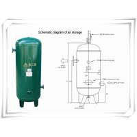 China Screw Portable Rotary Compressed Air Receiver Tank Replacement Low Pressure wholesale