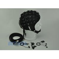 China High Precision EEG Electrode Cap With Different Sensor Electrodes 16 ~ 128 Channel wholesale
