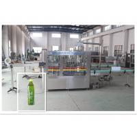 China Juice Drink / Tea Filling Equipment Industrial Bottle Washing Machine wholesale