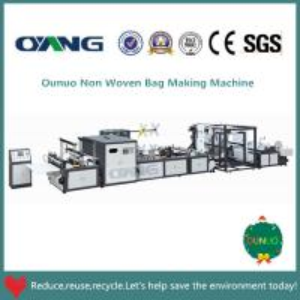 China Non Woven Bag Material and Making machine Machine Type plastic bag making machine on sale