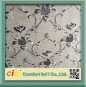 China Modern Home Decor Wallpaper Polyester Jacquard Fabric Seamless on sale