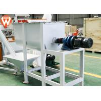China Carbon Steel 500 Kg/Batch Feed Mixer Machine 7.5 Kw Mixing Uniformity ≤ 7% wholesale