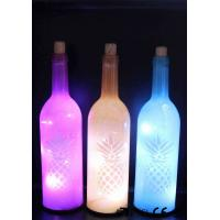 China Decorative Wine Bottle Led Lights For Home / Party / Events WB-030 wholesale