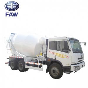 China Small Self - Loading Concrete Mixer Truck JIEFANG FAW J5M 4*2 6*4 wholesale