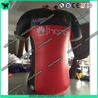 China Sports Cloth Promotion Advertising Inflatable T-shirt Cloth Replica Model wholesale