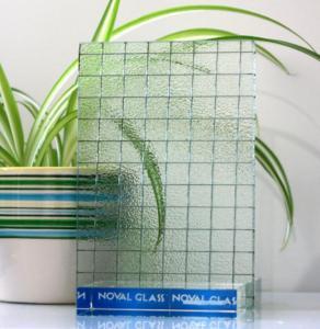 China Wired Nashiji Pattern Glass wholesale