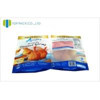 China Frozen Food Snack Packaging Bags Transparent Window Front Matte Printed wholesale