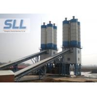 China High Layout Flexibility Compact Concrete Batching Plant With Electric Pulse De Duster wholesale