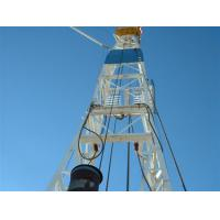 China hydraulic Drilling Rig derrick - mast 2200N·m Max.Torque for drilling rig wholesale