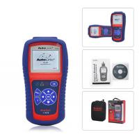 China AutoLink AL419 OBD II Code Reader , Autel Diagnostic Scanner With DTC Definitions on sale