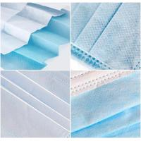 China Hospitals Non Woven Fabric Face Mask Earloop 3 Ply High Elasticity Comfortable wholesale