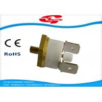 China Manual Reset Snap Disc Thermostat , Thermal Switch Thermostat  T24-RL2-CB wholesale