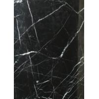 China Black Marquina Nero Marquina Gloss Marble Floor Tiles Frost Resistance wholesale