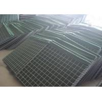 China ISO Military Hesco Bastion Barrier / Welded Gabion Box For 3-6mm Wire Diameter on sale