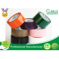 China Multi Color Box Carton Sealing Colored Packaging Tape Bopp Self Adhesive Tape wholesale