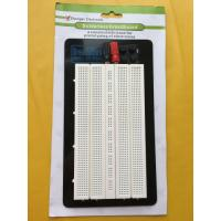 China Aluminum Backing Solderless Circuit Board , White Breadboard Circuits Projects wholesale
