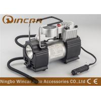 China Metal Hand Held Air Compressor Tyre Inflator Air Pump with Light / Digital Gauge wholesale
