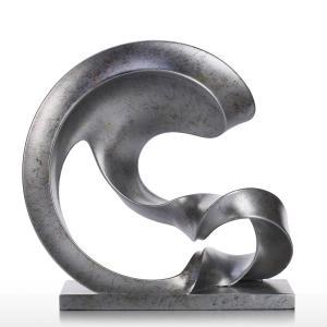 China Abstract Indoor Metal Sculptures Floor Figure Creative Decorative Metal Sculptures wholesale