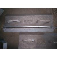 China Pearlitical Cr-Mo alloy steel lifting bars with 430mm long insert in the rubber wholesale