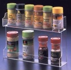 China Fashion Shape Acrylic Spice Rack With customer's Logo wholesale