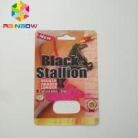 Quality 3D Rhino Blister Card Packaging Rhino 12 Rhino 11 Mens Sexual Supplements For for sale