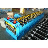 China 60KW Silo Roll Forming Machine With Protect Cover / 2 Punching Stations wholesale