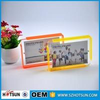 China Custom design 4*6cm Cute acrylic photo frame / cheap picture frames in bulk wholesale