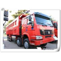 China HOWO 12 wheels dump truck 8x4 30 tons loading tipper lorry / dumper truck with warranty 15000km wholesale