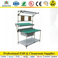China 10kg Static Dissipative PVC Laminate Cleanroom Bench wholesale