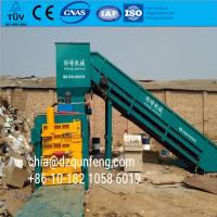 China Fully automatic waste paper baler machine with conveyor wholesale